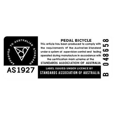 Distributed by CYCLES AUSTRALIA decal WHITE Madison old school bmx