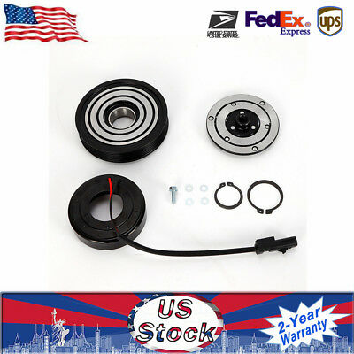 Pulley Bearing AC Compressor Clutch Assembly Kit Fits for 06-08 JEEP 07-08 DODGE
