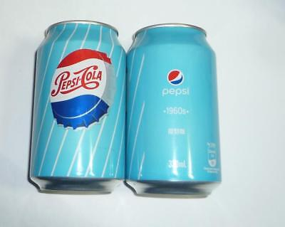 PEPSI COLA can HONG KONG Tall 330ml 2018 Limited Edition 1960's Design HK
