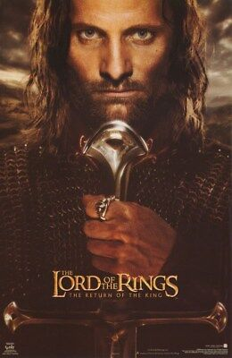 The Lord Of The Rings Poster  The Return Of The King Aragorn