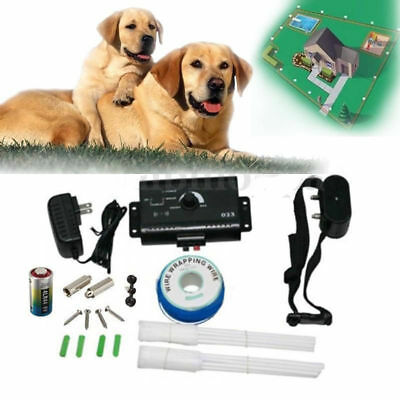 Pet dog Safety Waterproof Underground Electric Dog Fence System Shock Collar
