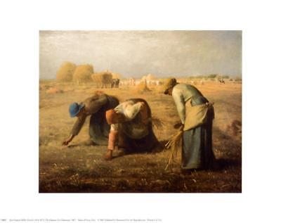 The Gleaners Art Print By Jean-François Millet - 14x11