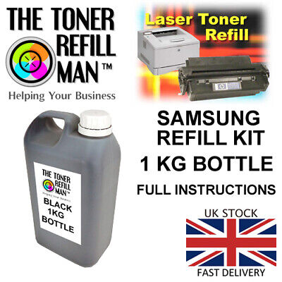 "Toner Refill For Use In Samsung Printer Cartridges ""GET IT RIGHT FIRST TIME"" 1kg"