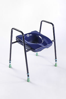 Toilet Frame & Seat in Red or Blue - Dementia & Alzheimer's