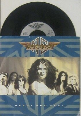 """No Sweat heart and soul / walk on by , 7"""" 45 UK"""