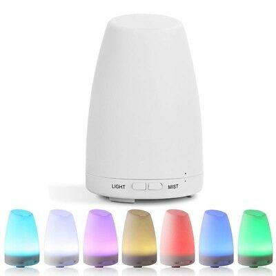 LED Colour Changing Aroma Diffuser Humidifier Essential Oil Relax Aromatherapy