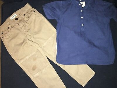 Country Road Kids - Boys Shirt & Pants - Size 4