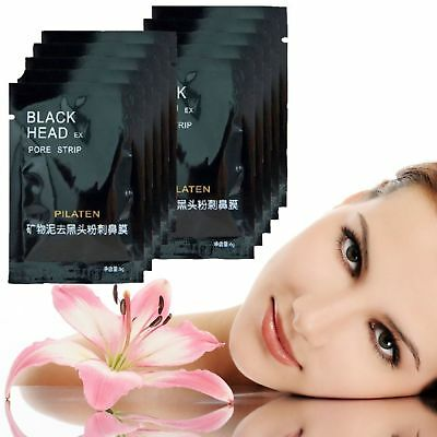 1×-100× Pilaten Black Head Killer Gesichtsmaske Akne Entferner Mitesser Pickel