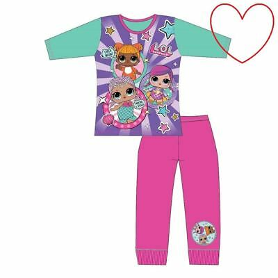 Girls Childrens LOL Surprise Pyjamas Nightwear Sleepwear Set Gift