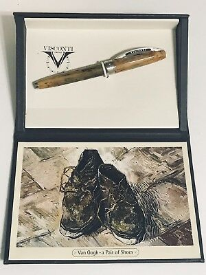 Visconti Van Gogh Ballpoint Pen, A Pair of Shoes, Retired Finish