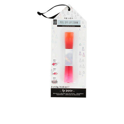 PEEL OFF LIP BALM STAIN long lasting lip color 2 x 4,5 gr