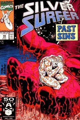 Silver Surfer #48 (Vol 3)