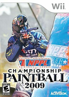 NPPL Championship Paintball 09 For Wii And Wii U Very Good 2E