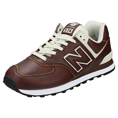 new balance ml 574 uomo pelle