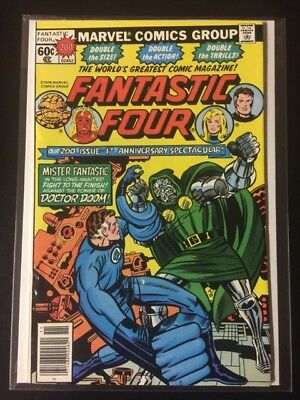 Fantastic Four #200!!!   Vf+ - Nm!!!   Kirby Cover!!!   Free S/h!!!
