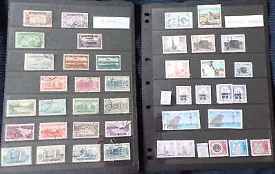 Collection of Middle East Stamps in 26 Stock Sheets