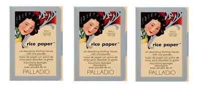 Palladio Rice Paper pack of 3