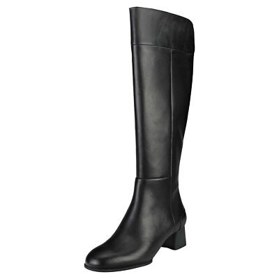 171fd098648 CAMPER KOBO HIGH Womens Black Leather Boots -  132.85