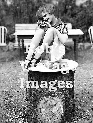 Naughty Sassy Flapper Teasing girl Photo 11 1920s Jazz Prohibition era