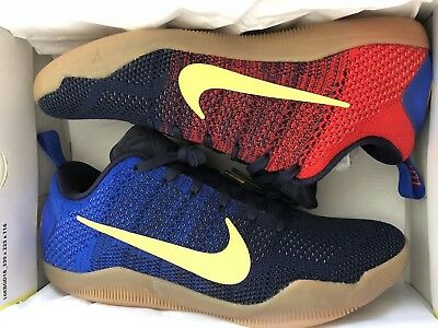 1a9cb637b24 NIKE KOBE XI 11 Elite Low Mambacurial FC Barcelona Blue Red SZ 11.5 ...