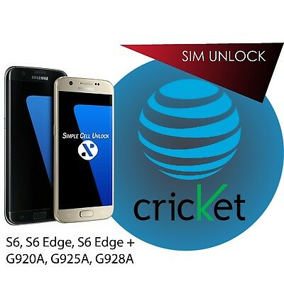Samsung Galaxy AT&T S6 / Note 5 SIM unlock service Instant by USB INSTANT