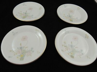 "Royal Doulton Flirtation Fine Bone China  Bread Plate 6.5"" set of 4"