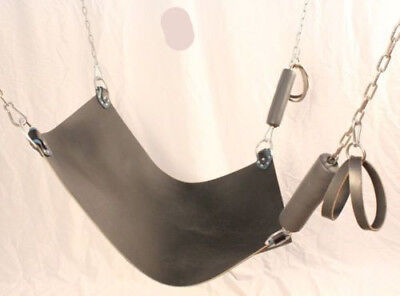 Real Leather Heavy Duty Leather Sex Swing Sling Adult Play Room Fun