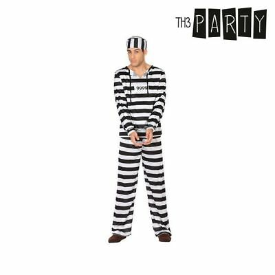 Costume per Adulti Th3 Party Carcerato S1110217