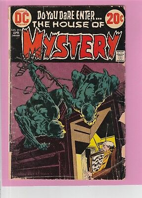 The House of Mystery #213 Do You Dare Enter... Bronze Age DC Horror