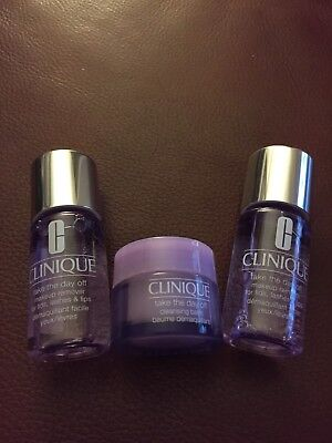 Clinique Take The Day Off Makeup Remover 30 ml x2 & Cleansing Balm 15 ml x1