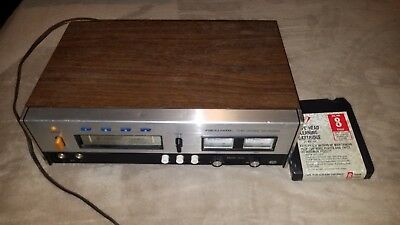 Vtg Realistic TR-882 8 Track Tape Record/Play Deck Model 14-944A w/ Head Cleaner