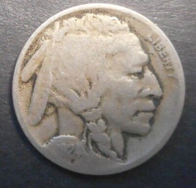 United States US 1924 D Buffalo  Nickel  Coin Nice