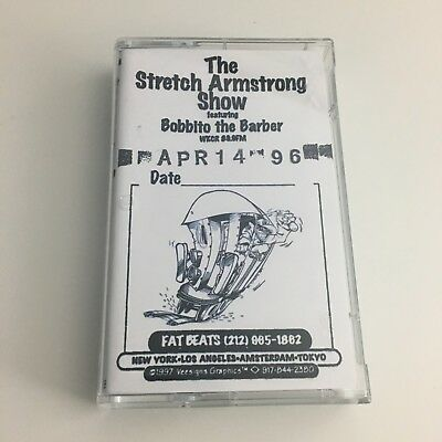 The Stretch Armstrong & and Bobbito Show 4-14-96 CASSETTE MIXTAPE w/ Large Prof.