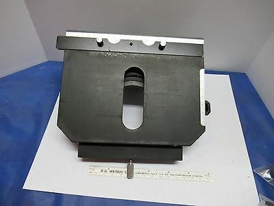 Nikon Japan Stage Table Micrometer Microscope Part As Is &85-06