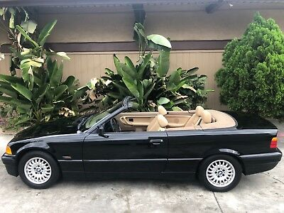 1995 BMW 3-Series CONVERTIBLE CONVERTIBLE 3I8I SOUTHERN CALIFORNIA LOW MILEAGE CORROSION FREE BEAUTIFUL SIMPLE