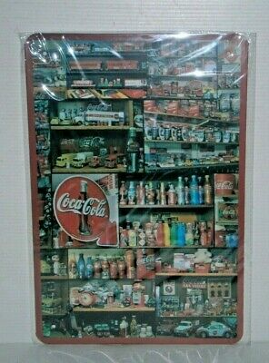 CCCMS44 Coca - Cola   Metal Sign 30 cm H X 20cm W New