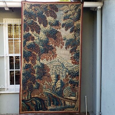 A Superb Early 18th Century Verdure Tapestry