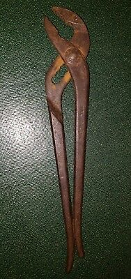 "Vintage Duro Metal Products 2103 10""long Slip-Joint Pliers Made In U.s.a"