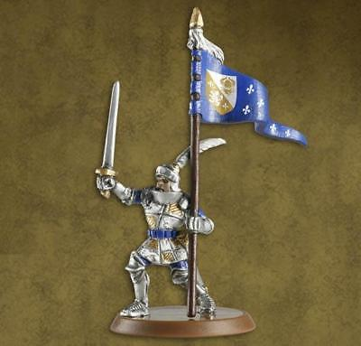 WOTC HeroScape Crest of the Valkyrie - Jandar's Flag Bearer, Sir Gilbert Box NM