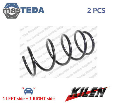2x KILEN FRONT COIL SPRING PAIR SET 19194 P NEW OE REPLACEMENT