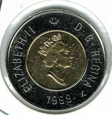 1999 Canadian Proof Like Uncirculated $2 Toonie coin!