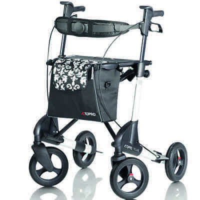 Topro Troja 2G Premium Lightweight Small Rollator with Back Support