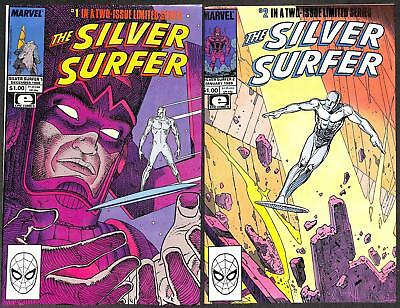 Silver Surfer #1-2 (Mini) Complete Set FN+