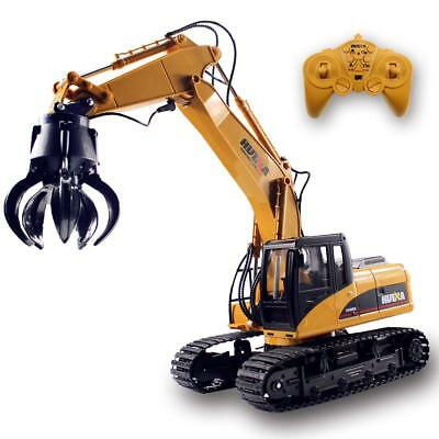 RC Truck Tractor Excavator Timber Grab Loader Crawler Material Handler Remote