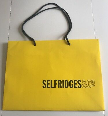 Selfridges Gift Bag With Tissue Paper 3 99 Picclick Uk