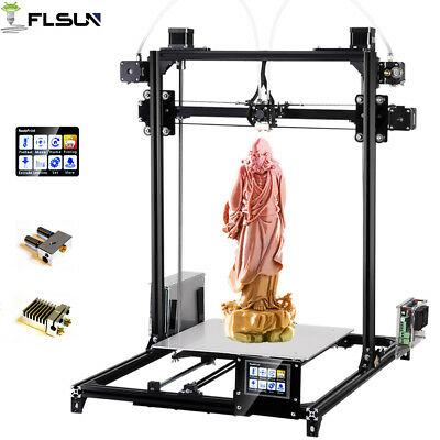 Flsun I3 Touch Screen 3D Printer Dual Extruder Large Printing Area 300*300*420MM