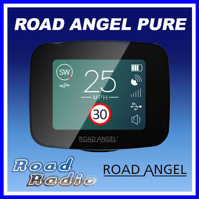 Road Angel Pure 2.4″ Advanced GPS Speed Camera and Laser Detector Radar WiFi