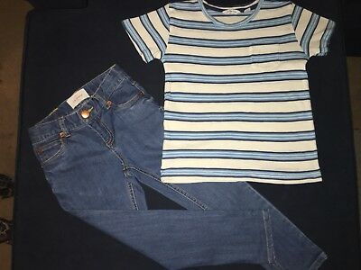 Country Road Kids - Boys T-Shirt & Jeans - Size 4