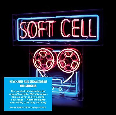 Soft Cell - The Singles Keychains And Snowstorms [CD] Sent Sameday*