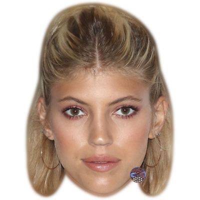 Devon Windsor (Smile) Maske aus Pappe